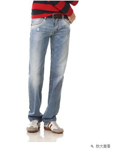 NCL讨论区 想买条牛仔裤,大家帮我看看这两条哪个好点